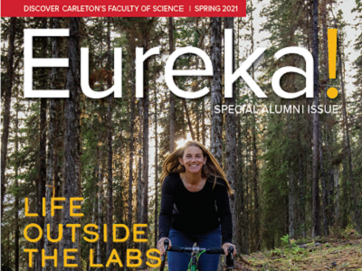 Photo for the news post: Just published! Read Carleton's Special Alumni Issue of Eureka! Magazine