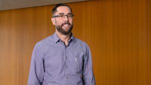 Portrait of Prof. Matthew Holahan