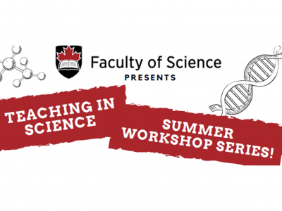 Photo for the news post: NEW! Summer Workshop Series for Science Instructors