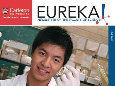 Photo for the news post: Eureka! Fall 2006