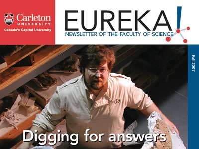 Photo for the news post: Eureka! Fall 2007