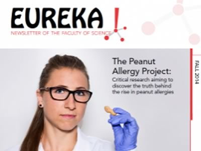 Photo for the news post: Eureka! Fall 2014