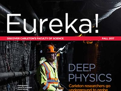 Photo for the news post: Eureka! Fall 2017