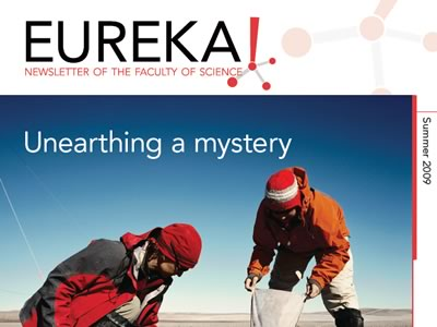 Photo for the news post: Eureka! Summer 2009