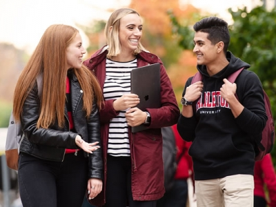 Photo for the news post: Carleton University Fall Open House: October 19, 2019