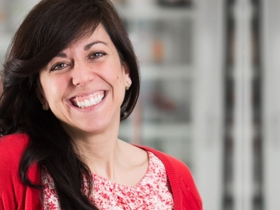 Photo for the news post: Chemistry Prof. Maria DeRosa Receives 2021 Grants4Ag Award for Agricultural Sustainability Research