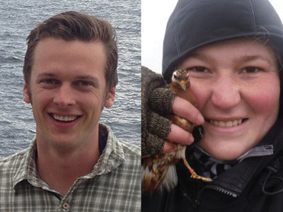 Photo for the news post: Biology PhD Students Win Awards for Northern Research