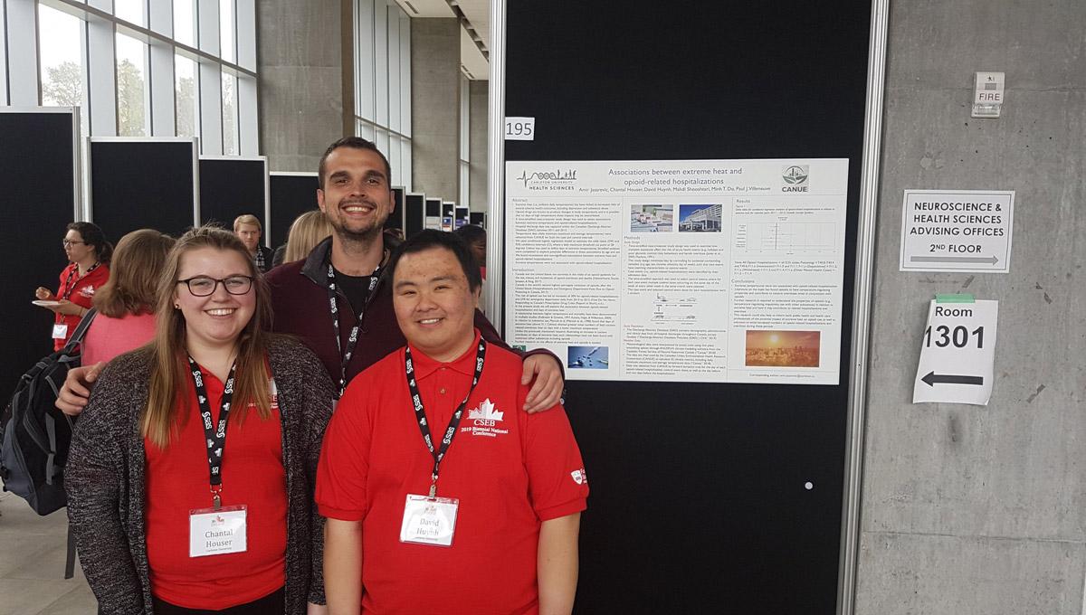 Chantal Houser, Amir Jasarevic, and David Huynh