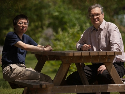 Photo for the news post: Carleton Physicists Search for Particles Beyond Standard Model of Particle Physics