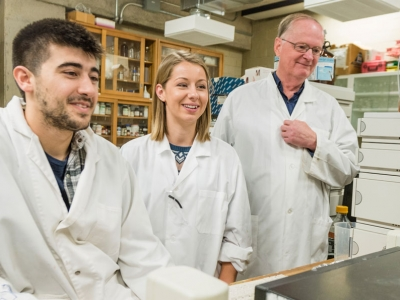 "Photo for the news post: UNB Alumni News features Prof. David Miller in story, ""Putting science research to practical use"""
