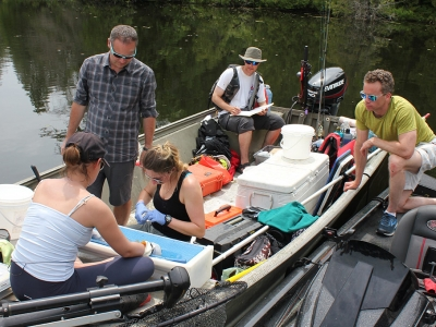 Photo for the news post: Jordanna Bergman speaks to CBC regarding her research and the round goby fish